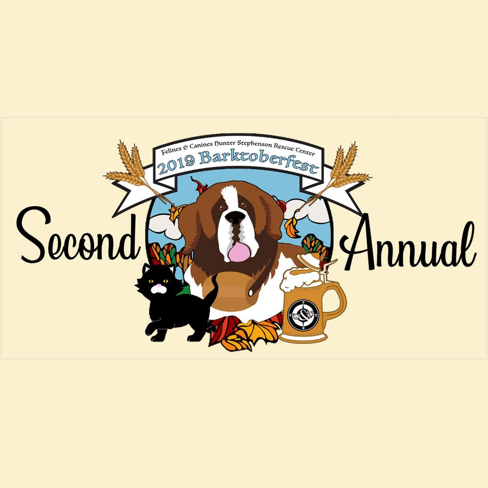 Second Annual Barktoberfest logo